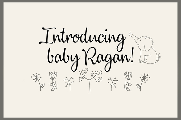 Newborn name - blog slideshow