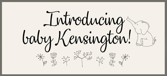 Newborn name - blog slideshow